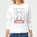 scooby-doo-hold-the-phone-women-s-sweatshirt-white-l-wei-