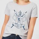 scooby-doo-coat-of-arms-women-s-t-shirt-grey-5xl-grau