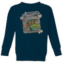 scooby-doo-mystery-machine-psychedelic-kids-sweatshirt-navy-3-4-jahre-marineblau