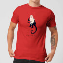 friends-marcel-the-monkey-men-s-t-shirt-red-s-rot