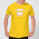 friends-turkey-men-s-t-shirt-yellow-s-gelb