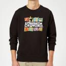 cartoon-network-logo-characters-sweatshirt-black-4xl-schwarz, 28.99 EUR @ sowaswillichauch-de