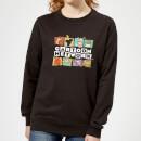 cartoon-network-logo-characters-women-s-sweatshirt-black-4xl-schwarz