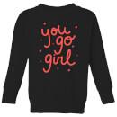 you-go-girl-kids-sweatshirt-black-11-12-jahre-schwarz