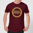 game-of-thrones-circle-logo-herren-t-shirt-burgunderrot-s-burgunderrot