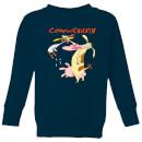 cow-and-chicken-characters-kids-sweatshirt-navy-3-4-jahre-marineblau