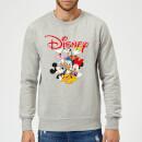 mickey-mouse-disney-crew-sweatshirt-grau-5xl-grau