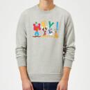 disney-mickey-mouse-hey-sweatshirt-grau-5xl-grau