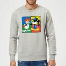 disney-mickey-and-donald-clothes-swap-sweatshirt-grau-5xl-grau