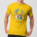 disney-aladdin-princess-jasmine-herren-t-shirt-yellow-m-gelb