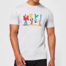 disney-mickey-mouse-hey-herren-t-shirt-grau-3xl-grau