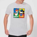 disney-mickey-and-donald-clothes-swap-herren-t-shirt-grau-5xl-grau