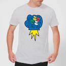 disney-donald-duck-pop-fist-herren-t-shirt-grau-3xl-grau