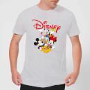 mickey-mouse-disney-crew-herren-t-shirt-grau-3xl-grau