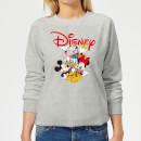 mickey-mouse-disney-crew-damen-sweatshirt-grau-5xl-grau