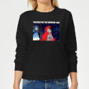 disney-little-mermaid-weekend-wait-damen-sweatshirt-schwarz-m-schwarz