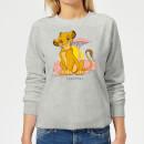 disney-lion-king-simba-pastel-damen-sweatshirt-grau-l-grau