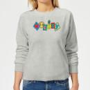 disney-mickey-fruit-blocks-damen-sweatshirt-grau-5xl-grau