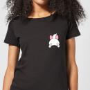 disney-marie-backside-damen-t-shirt-schwarz-4xl-schwarz