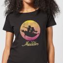disney-aladdin-flying-sunset-damen-t-shirt-schwarz-xl-schwarz