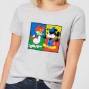 disney-mickey-and-donald-clothes-swap-damen-t-shirt-grau-5xl-grau