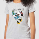 disney-minnie-mouse-love-the-earth-damen-t-shirt-grau-l-grau