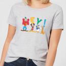 disney-mickey-mouse-hey-damen-t-shirt-grau-5xl-grau