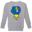 disney-donald-duck-pop-fist-kinder-sweatshirt-grau-3-4-jahre-grau