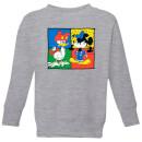 disney-mickey-and-donald-clothes-swap-kinder-sweatshirt-grau-3-4-jahre-grau