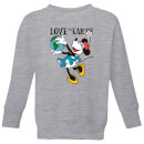disney-minnie-mouse-love-the-earth-kinder-sweatshirt-grau-3-4-jahre-grau