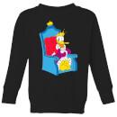 disney-king-donald-kinder-sweatshirt-schwarz-7-8-jahre-schwarz