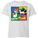 disney-mickey-and-donald-clothes-swap-kinder-t-shirt-grau-3-4-jahre-grau