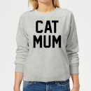 cat-mum-women-s-sweatshirt-grey-s-grau
