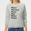 mum-s-and-mam-s-women-s-sweatshirt-grey-5xl-grau, 17.99 EUR @ sowaswillichauch-de