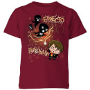 harry-potter-kids-expecto-patronum-kids-t-shirt-burgundy-7-8-jahre-burgunderrot