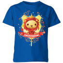 harry-potter-kids-gryffindor-crest-kids-t-shirt-royal-blue-3-4-jahre-royal-blue