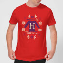 harry-potter-christmas-sweater-men-s-t-shirt-red-s-rot