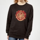 harry-potter-hogwarts-christmas-crest-women-s-sweatshirt-black-xl-schwarz