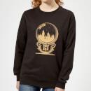harry-potter-hogwarts-snowglobe-women-s-sweatshirt-black-s-schwarz