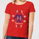 harry-potter-christmas-sweater-women-s-t-shirt-red-s-rot