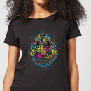 harry-potter-hogwarts-neon-crest-women-s-t-shirt-black-5xl-schwarz