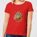 harry-potter-star-hogwarts-gold-crest-women-s-t-shirt-red-xl-rot