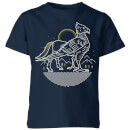 harry-potter-buckbeak-kids-t-shirt-navy-3-4-jahre-marineblau