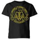 harry-potter-hufflepuff-badger-badge-kids-t-shirt-black-3-4-jahre-schwarz