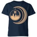 harry-potter-globe-moon-kids-t-shirt-navy-3-4-jahre-marineblau