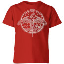 harry-potter-order-of-the-phoenix-kids-t-shirt-red-3-4-jahre-rot