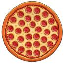 pizza-stranddecke