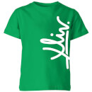 how-ridiculous-xliv-script-vertical-kids-t-shirt-kelly-green-7-8-jahre-kelly-green