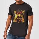 avengers-endgame-distressed-sunburst-herren-t-shirt-schwarz-4xl-schwarz