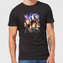 avengers-endgame-character-montage-herren-t-shirt-schwarz-3xl-schwarz